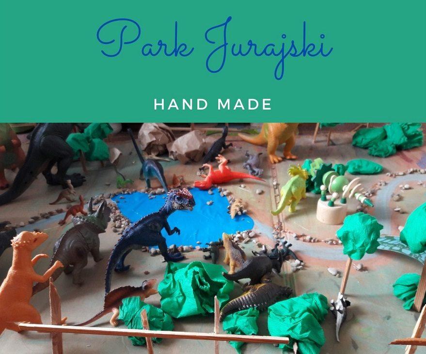 park jurajski hand made
